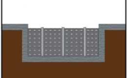 Perforated Wall Baffle panels can be shop-perforated for increased water mixing and flow.