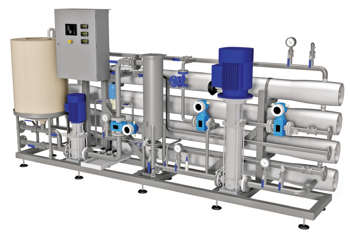 Packaged Reverse Osmosis (RO) Plant