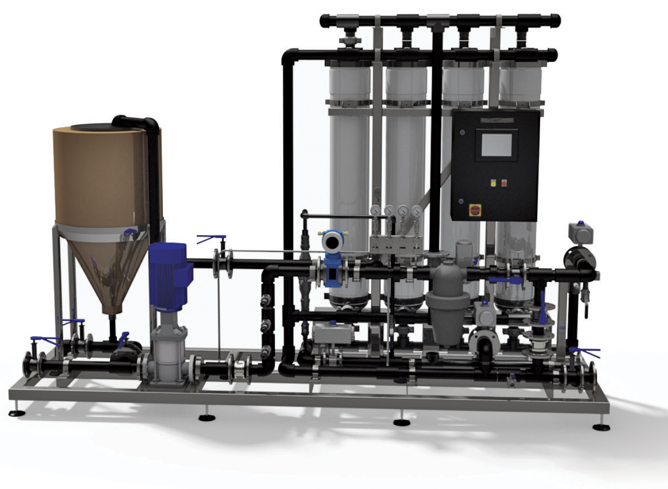 Packaged Ultra Filtration (UF) Plant